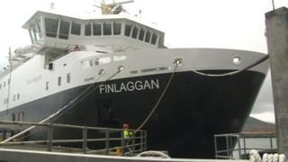 An MV Finlaggan