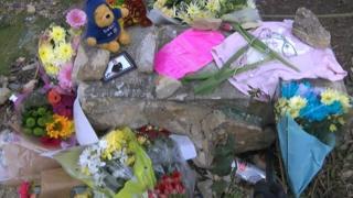 Crowborough crash scene
