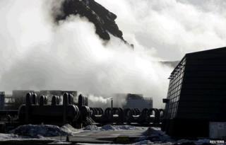Hellisheidarvirkjun geothermal power plant