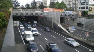 Tunnel du Landy Paris