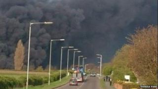 Fire at Gainsborough