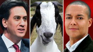 Ed Miliband, a goat and Clive Lewis