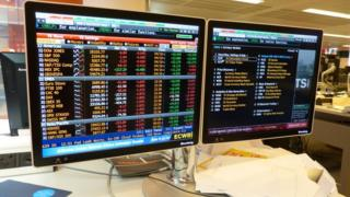 Bloomberg terminals