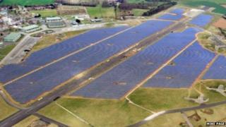 Scottow Moor solar farm