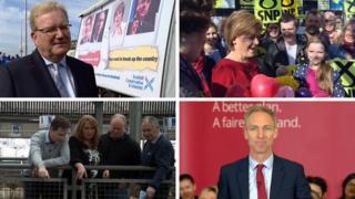 Scottish leader campaign around Scotland