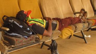 A migrant in Gao, Mali