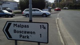 Trafalgar roundabout