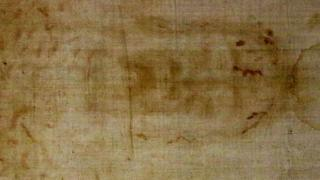 The Turin Shroud. Photo: 18 April 2015