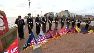 Falklands memorial in Hull