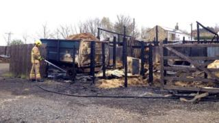 Burnt stables