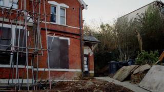 Exterior of the house managed by Mustafa Kemal Mustafa in Lewisham