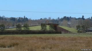 Artist's impression of the bridge planned for Ufton Nervet rail crossing
