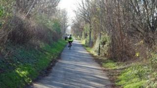 The Bristol to Bath cycle route