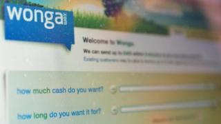 Wonga website