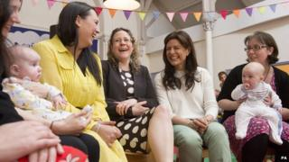 Miriam Gonzalez Durantez on the campaign trail in Cardiff