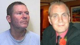James Caven, left, had denied murdering Colin Armstrong
