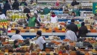 Almaty's Green Bazaar
