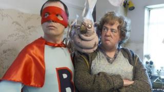 Kevin Eldon and Johnny Vegas star in Brilliantman!