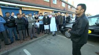 Vigil for shooting victim Tipu Sultan