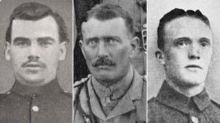 Three Victoria Cross winners
