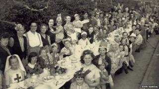 VE Day party in Tonbridge