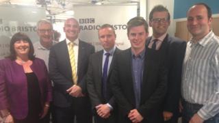 BBC Radio Bristol election debate, 21 April, 2015