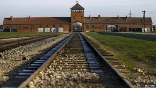 File photo of the former German Nazi extermination and concentration camp Auschwitz-Birkenau in Brzezinka near Oswiecim December 10, 2014
