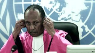 Judge at Rwanda tribunal