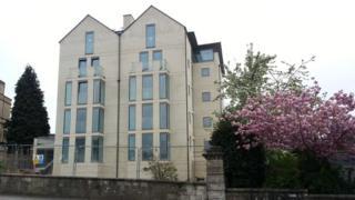 Upper Oldfield Park development in Bath