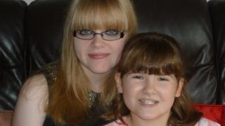 Jade Chapman (left) with her sister Laura