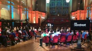 BBC Newsbeat debate
