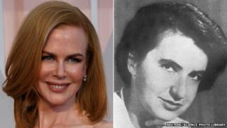 Nicole Kidman and Rosalind Franklin