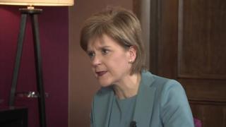 Nicola Sturgeon talks to Newsnight