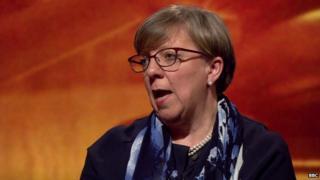Alison Saunders on Newsnight