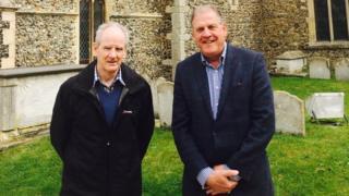 Richard Blackwell and David Hughes
