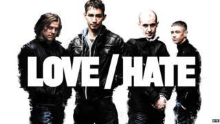 Irish drama series love hate won the award for best drama