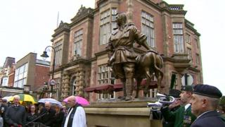 John Simpson Kirkpatrick statue, South Shields