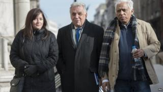(left to right) Angela Moffat, Andy Erlam and Azmal Hussein