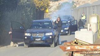 Guernsey Police firearms training exercise