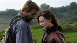 Carey Mulligan and Matthias Schoenaerts in Far From the Madding Crowd