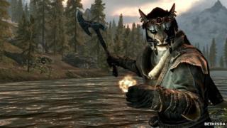 Screenshot from Skyrim