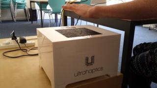 UltraHaptics box