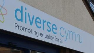 Diverse Cymru sign