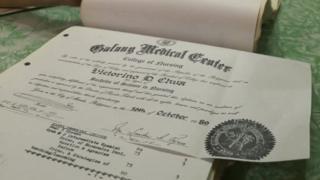 Chua nursing diploma