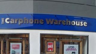 Carphone Warehouse store in London