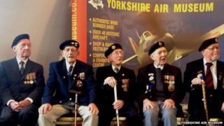 Veterans receive the Legion d'Honneur