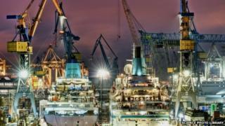 Harbour night