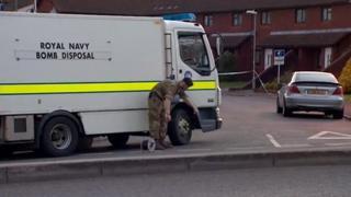 Royal Navy Bomb Disposal Unit