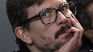 French cartoonist Renald Luzier, aka Luz, January 2015
