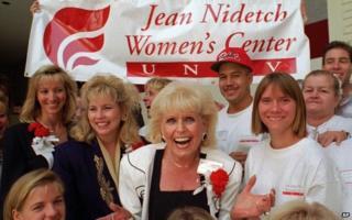 Jean Nidetch in Las Vegas in 1995